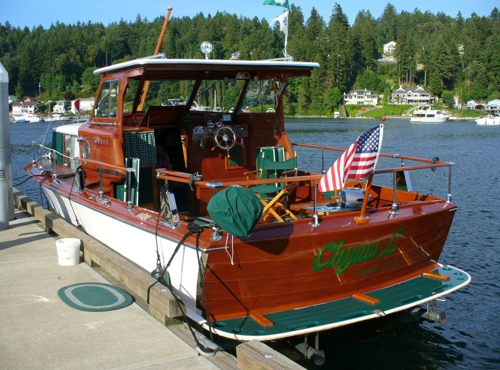 Gig Harbor 2007 Classic Boats Vintage Boats Cabin Cruiser
