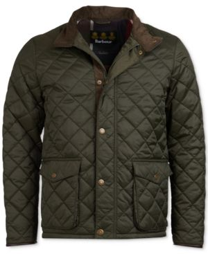 Barbour Men s Evanston Quilted Jacket, A Sam Heughan Exclusive, Created for  Macy s - Green M e4fa6f363e1b