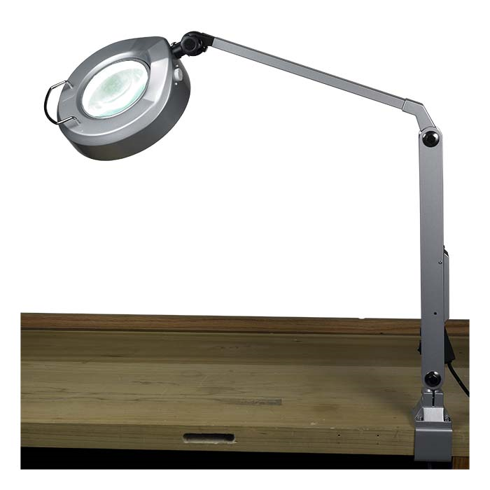 Jewelers Led Magnifier Task Lamp This High Quality Magnifying Jeweler S Lamp Features A 72 Bulb Led Light Strip Task Lamps Magnifier Jewelry Making Supplies