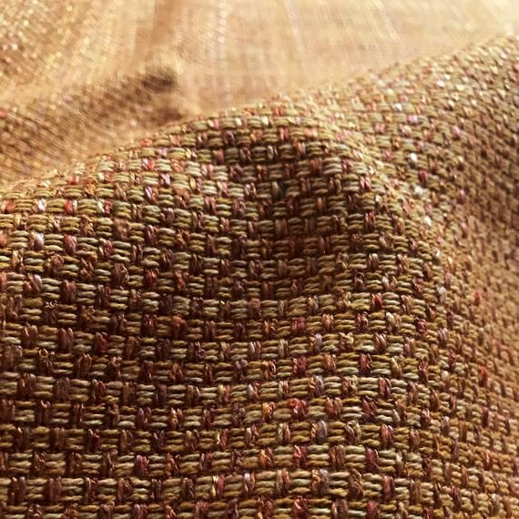 Tan Mod Textured Boucle Upholstery Fabric 54