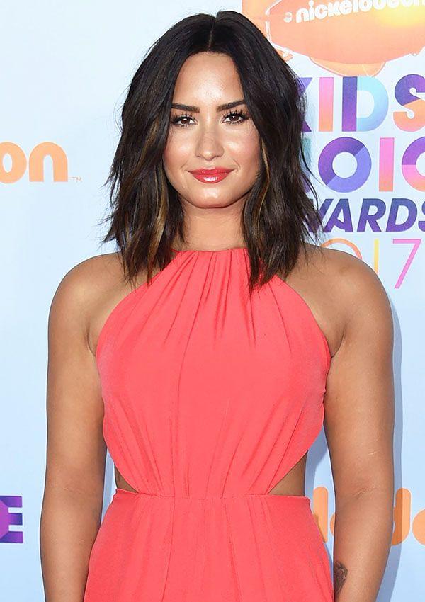 Demi Lovato Reveals Major Hair Makeover At KCAs —