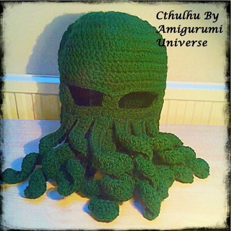 Tutorial Gorro paso a paso Amigurumi Universe Cthulhu DIY Crochet ...
