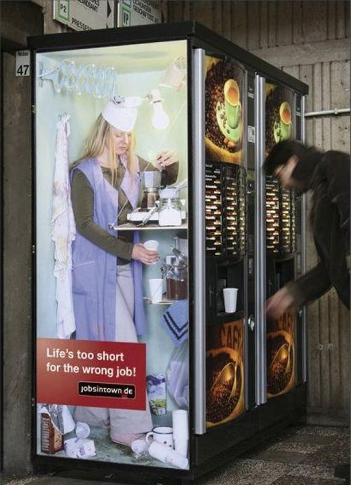 Have you ever wondered what hides behind all those coffee vending machines?