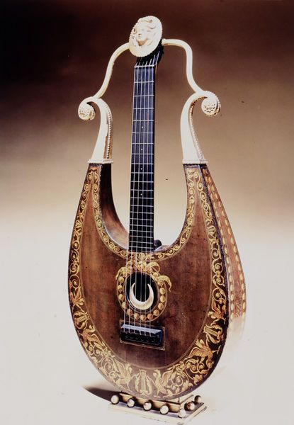 Apollo Lyre   Wornum, Robert   V&A Search the Collections