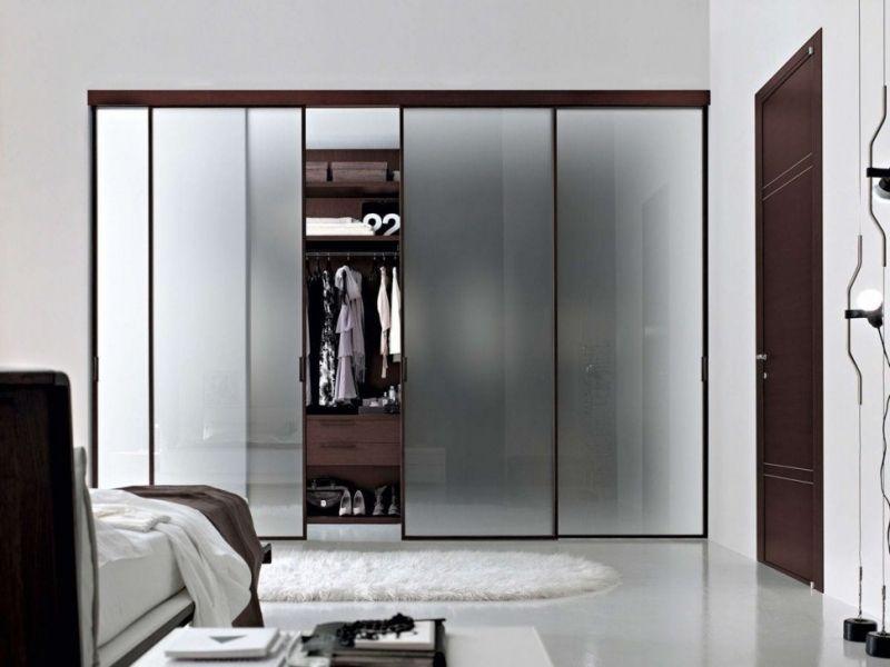 Trend Wardrobe Sliding Door Bedroom Luxury Frosted Glass Sliding