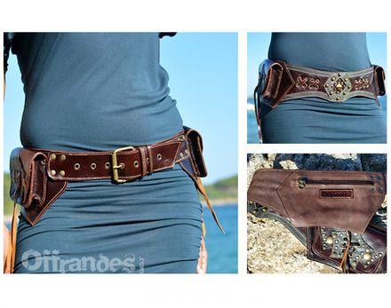 ceinture a poches cuir hipstar brw voyage festival par offrandes http www. Black Bedroom Furniture Sets. Home Design Ideas