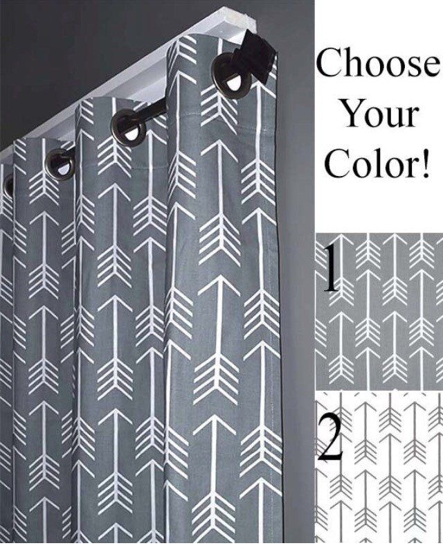 Arrow Curtains Free Shipping Two Curtain Panels Any