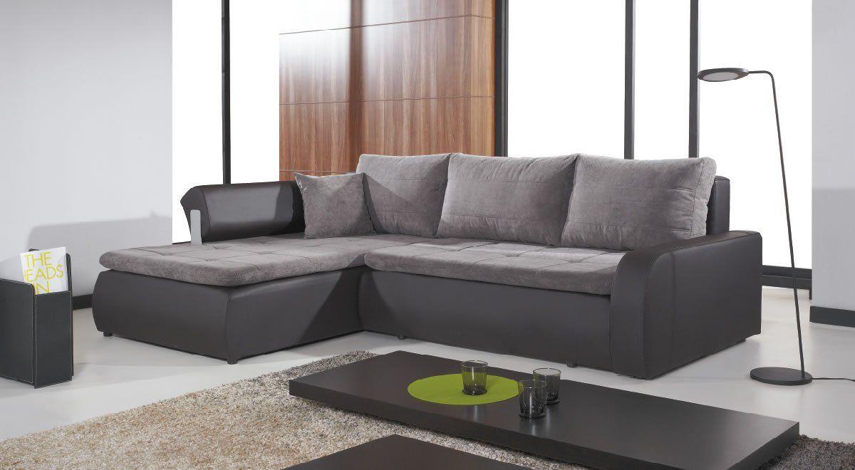 Now 769 Inc Vat Instalments 12 Months 0 Free Delivery The Unique Corner Sofa Bed Lin Black Sofa Living Room Corner Sofa Corner Sofa Bed