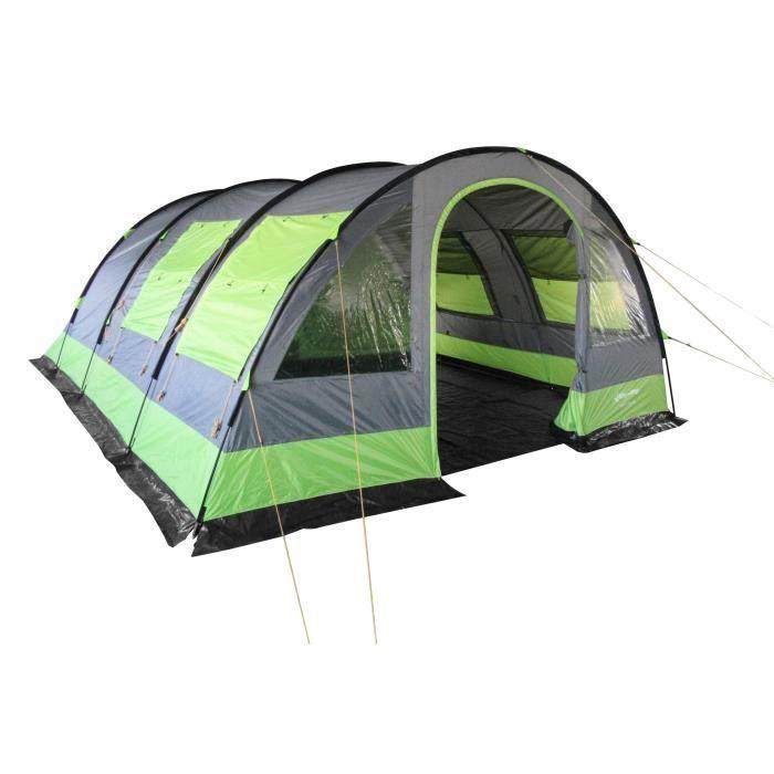 King Camp Tente Tunnel Venezia 6 6 Personnes Xxl Camping En Tente Tente Tunnel Tente Gonflable