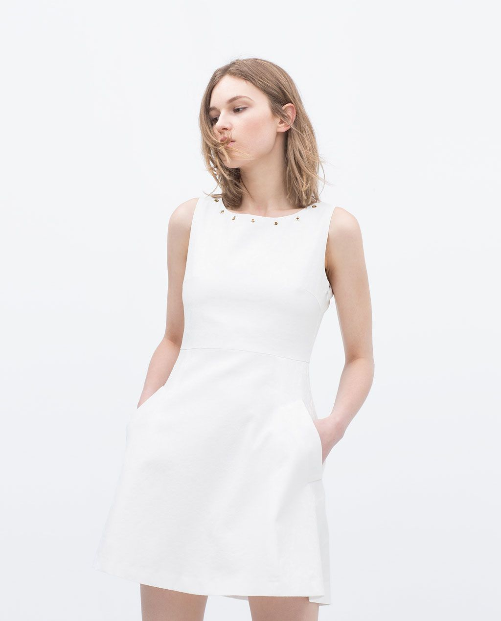 f7226574ee7b Image 1 of JACQUARD DRESS from Zara | C - *A-Line & Skater | Dresses ...