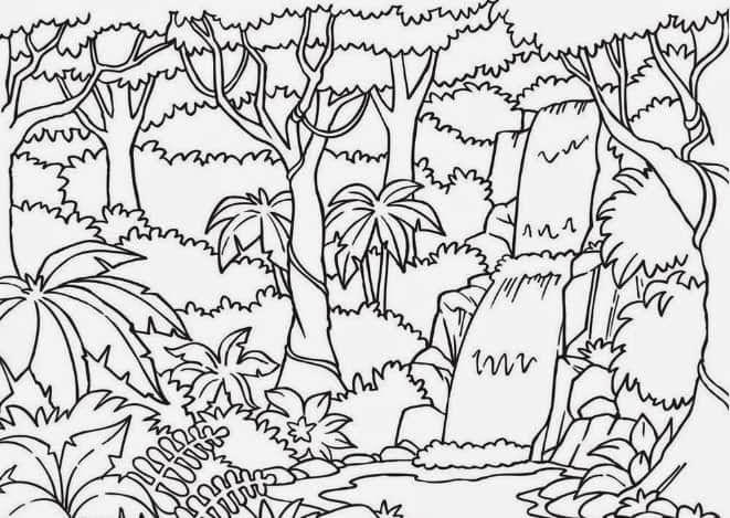 18 Contoh Sketsa Gambar Pemandangan Yang Mudah Digambar Sketsa Pemandangan Sketsa Bunga Dan Sketsa Rumah Lengkap Down Sketsa Gambar Hewan Menggambar Sketsa