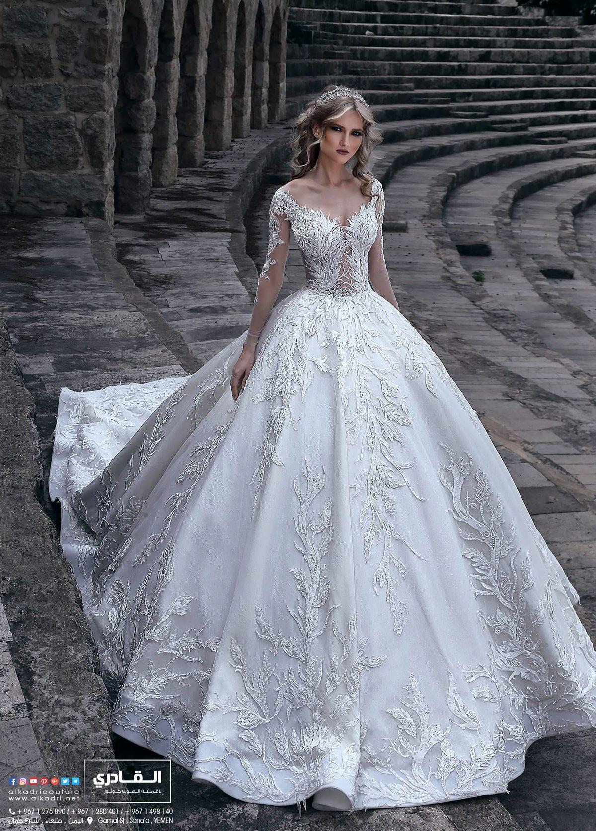 يمكنكم متابعتنا على مواقع التواصل الاجتماعي التالية Facebook Https Www Facebook Com Al Ball Gown Wedding Dress Ball Gowns Wedding Expensive Wedding Dress