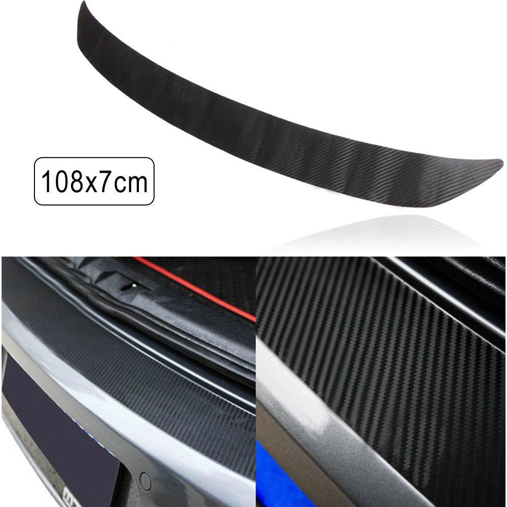Wedding decorations purple october 2018 Awesome Awesome Carbon Fiber Rear Bumper Sticker Trim Protector
