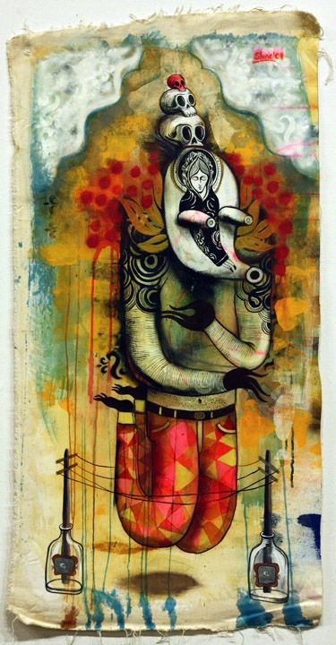 work of Mexico City-based artist Wendell McShine