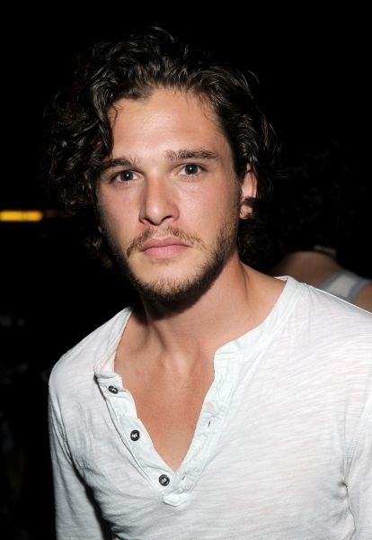 Kit Harington, my favorite actor on Game of Thrones.  He is beautiful!