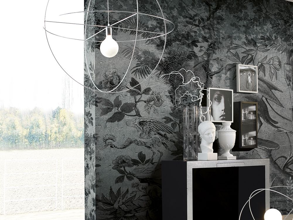Vinyl wallpaper PARADISE Luxury Collection By Adriani e Rossi ...