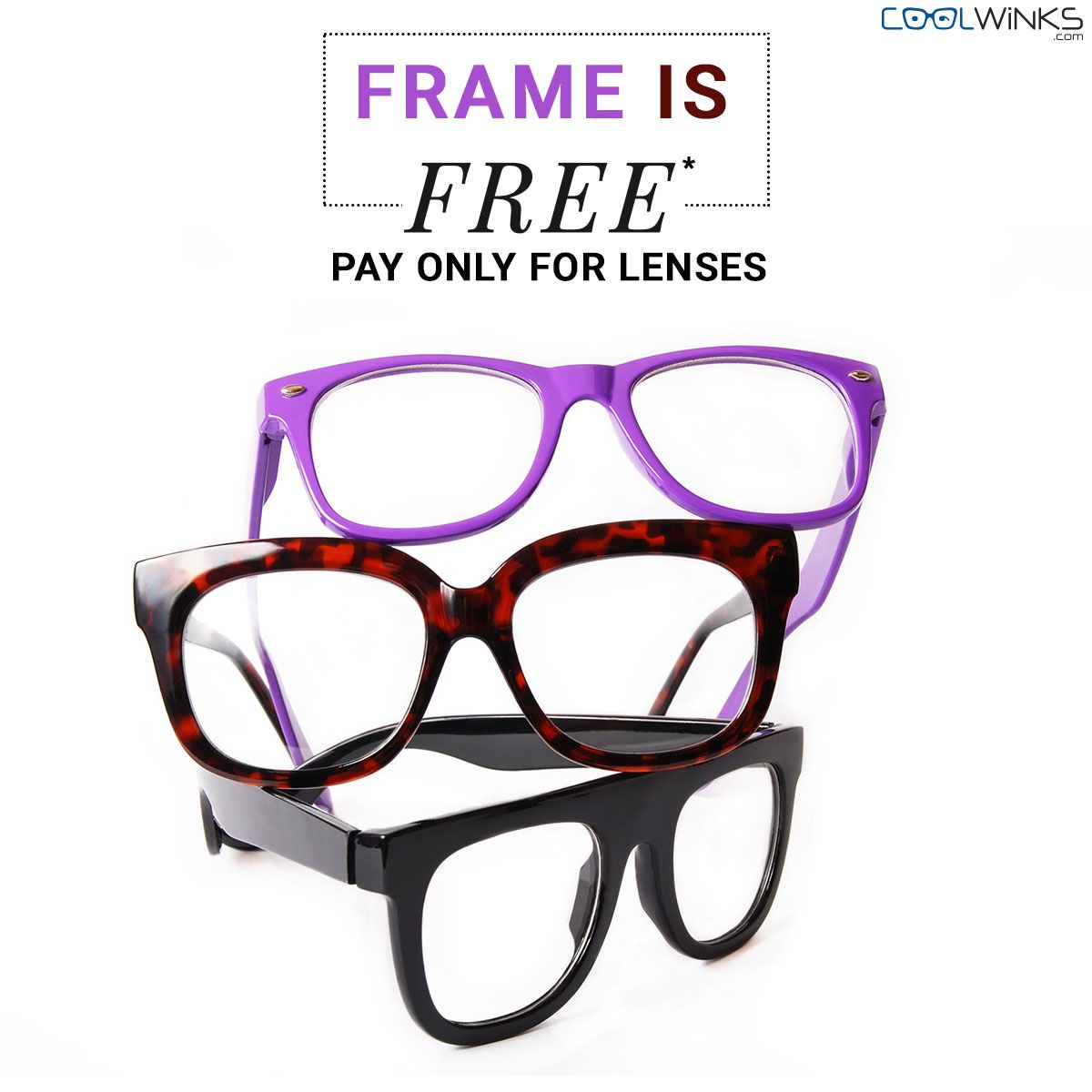 a046de2f04 SPECIAL SALE to start off your Weekend! Visit Coolwinks   Get Every Eyeglass  Frame for Free. Just pay for lenses. Limited Period Offer. Shop Now.