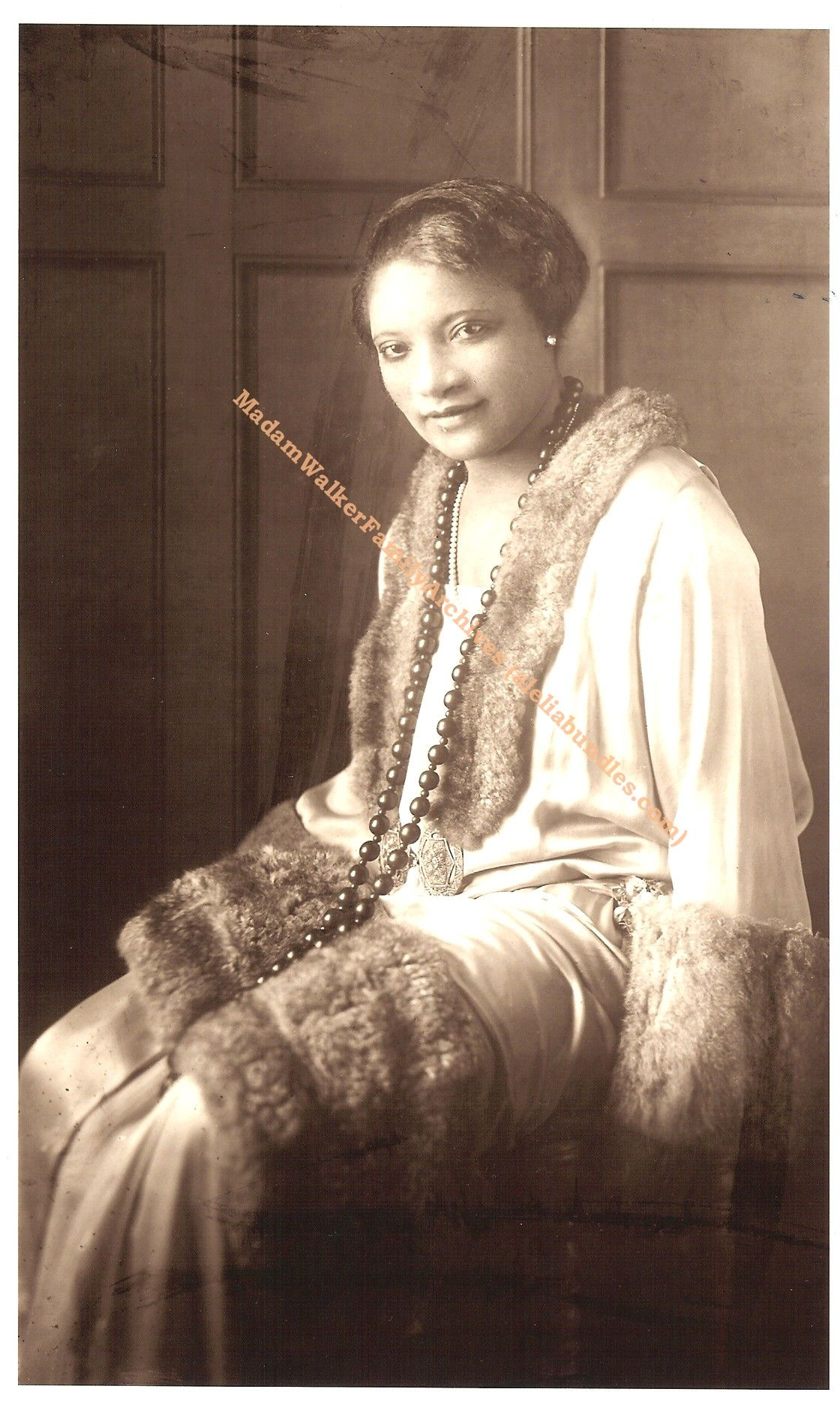 The daughter of Madam C.J. Walker, A'lelia Walker was the