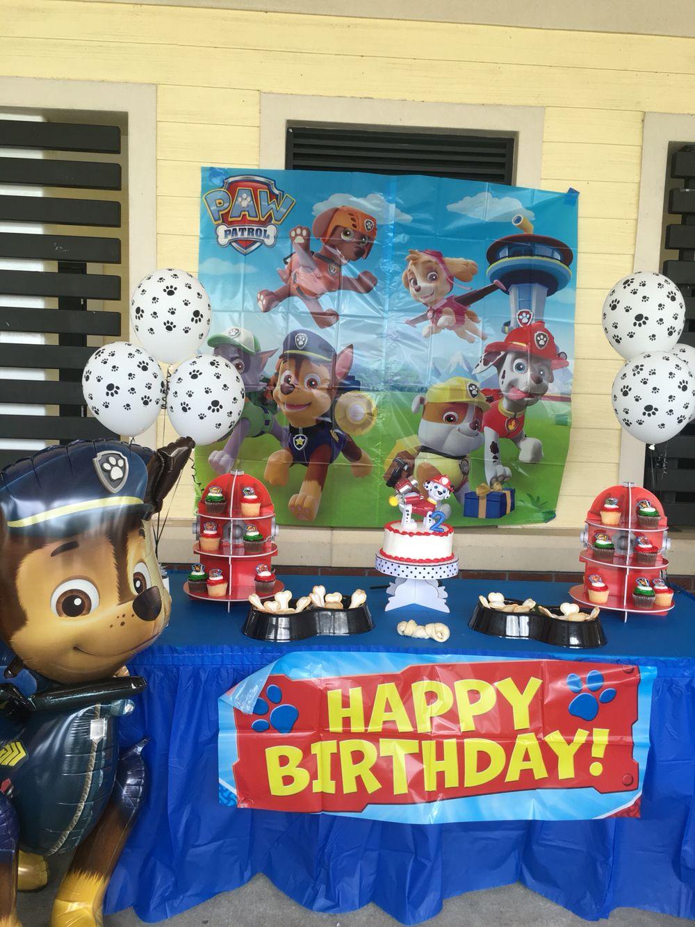 Paw Patrol Birthday for boys