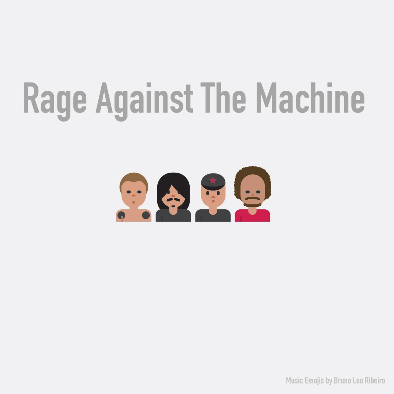 Music Emojis Famous Musicians Emoji Rage Against The Machine