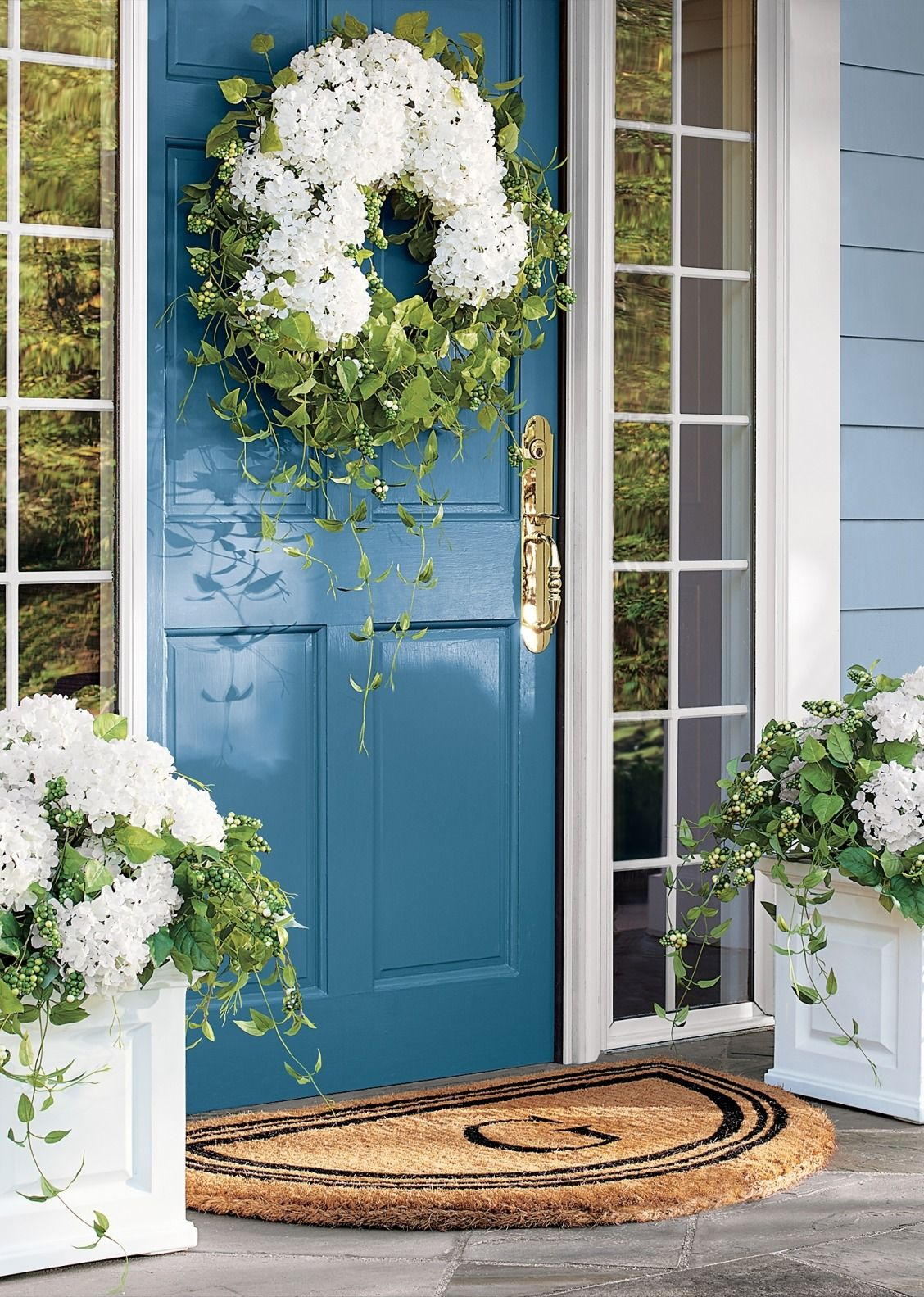 Haley Hydrangea Greenery & Haley Hydrangea Greenery | Hydrangea Porch and Flowers pezcame.com