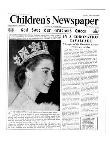 Giclee Print: God Save Our Gracious Queen, Front Page of