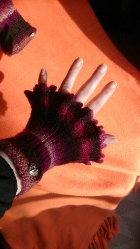 Winter wristlet because i don't like gloves if it is not too cold