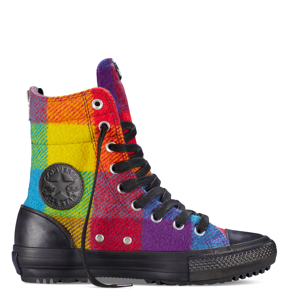 43b6ba86 Botas altas Chuck Taylor All Star Woolrich Yellow Bird yellow bird ...