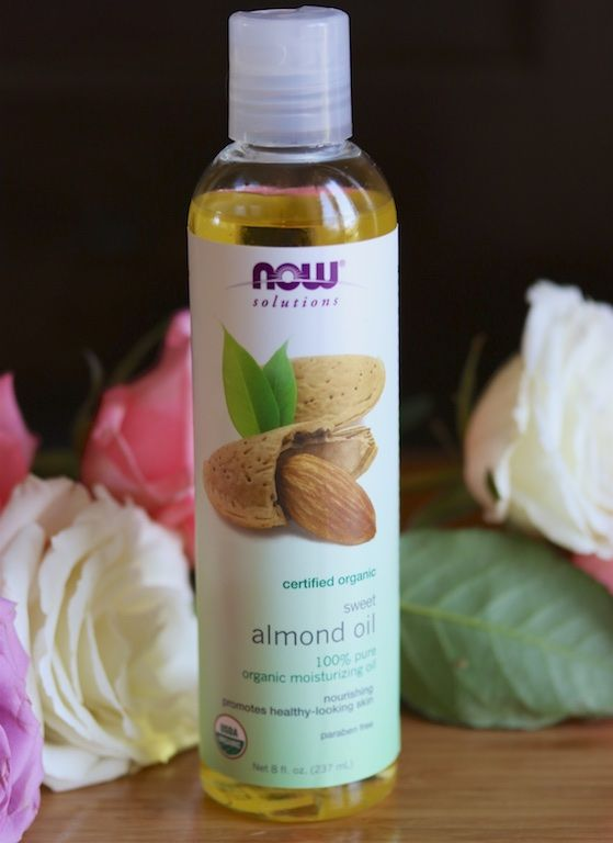 NOW pure and natural almond oil is just one of the natural beauty swaps I made (I use it instead of lotion). Read about all of my Spring Beauty Picks and enter to win an awesome giveaway! #organic #spon #beauty