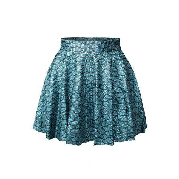 Fashion Style Skirts - Beautifulhalo.com ($15) ❤ liked on Polyvore featuring skirts and blue skirt