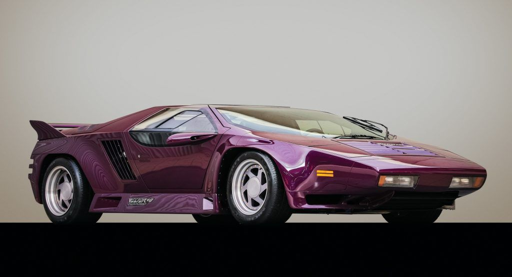 Purple Vector W8 Twin Turbo Will Remind You Why The 1980s Were Awesome Twin Turbo Unique Cars Super Cars