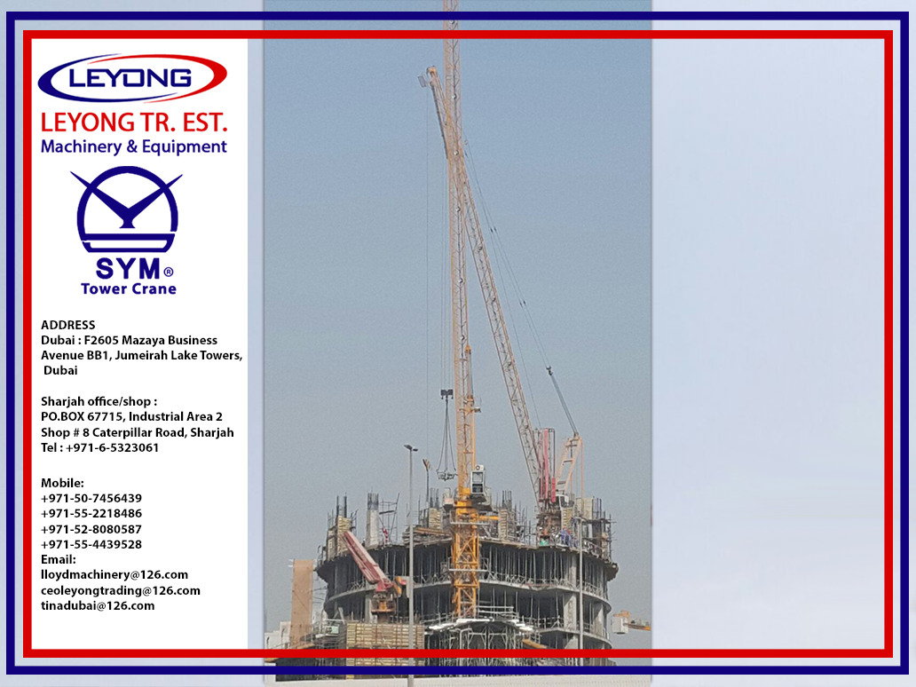 Pin by Leyong Machinery on tower crane | Spare parts, Tower