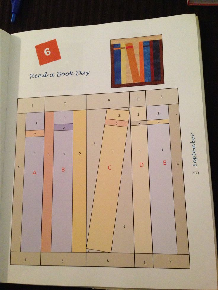 Pattern For Bookcase Quilt Free