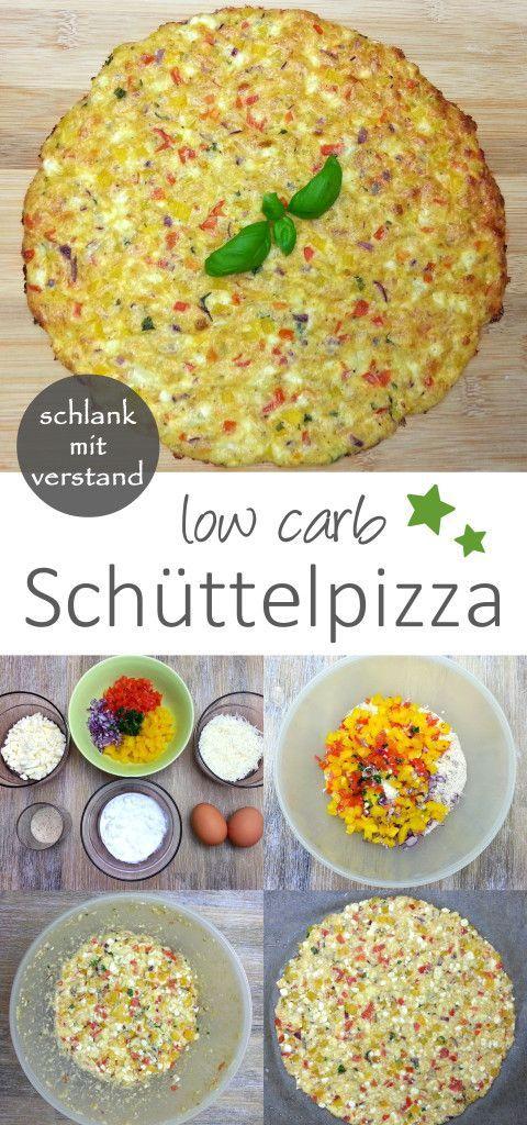 schnelle low carb Schüttel-Pizza – Chiara&GesundesEssen