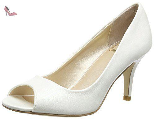 Lotus  Miriam, Escarpins femme - Blanc Cassé - Blanc cassé, 41.5 - Chaussures lotus (*Partner-Link)