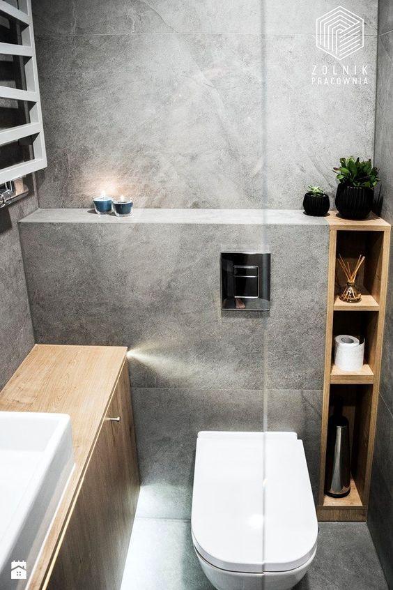 15 Genius Powder Room Ideas Toilet Design Diy Bathroom Remodel Bathroom Toilets