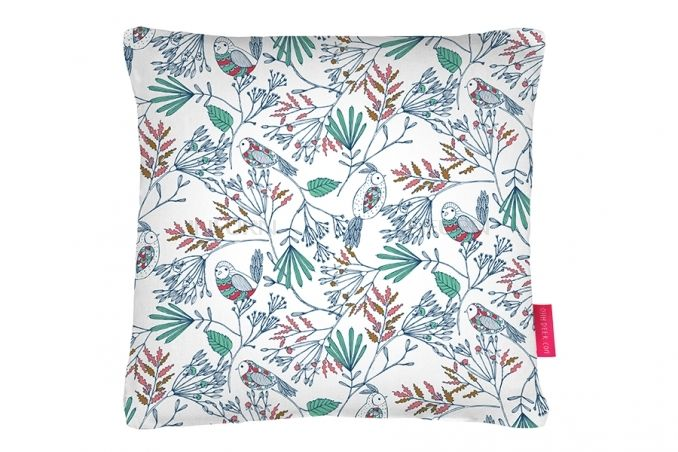 Bethan Janine Coussin Birdy Pattern