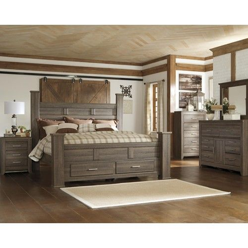 Signature Design By Ashley Furniture Juararo Queen Bedroom Group   Samu0027s  Furniture U0026 Appliance   Bedroom