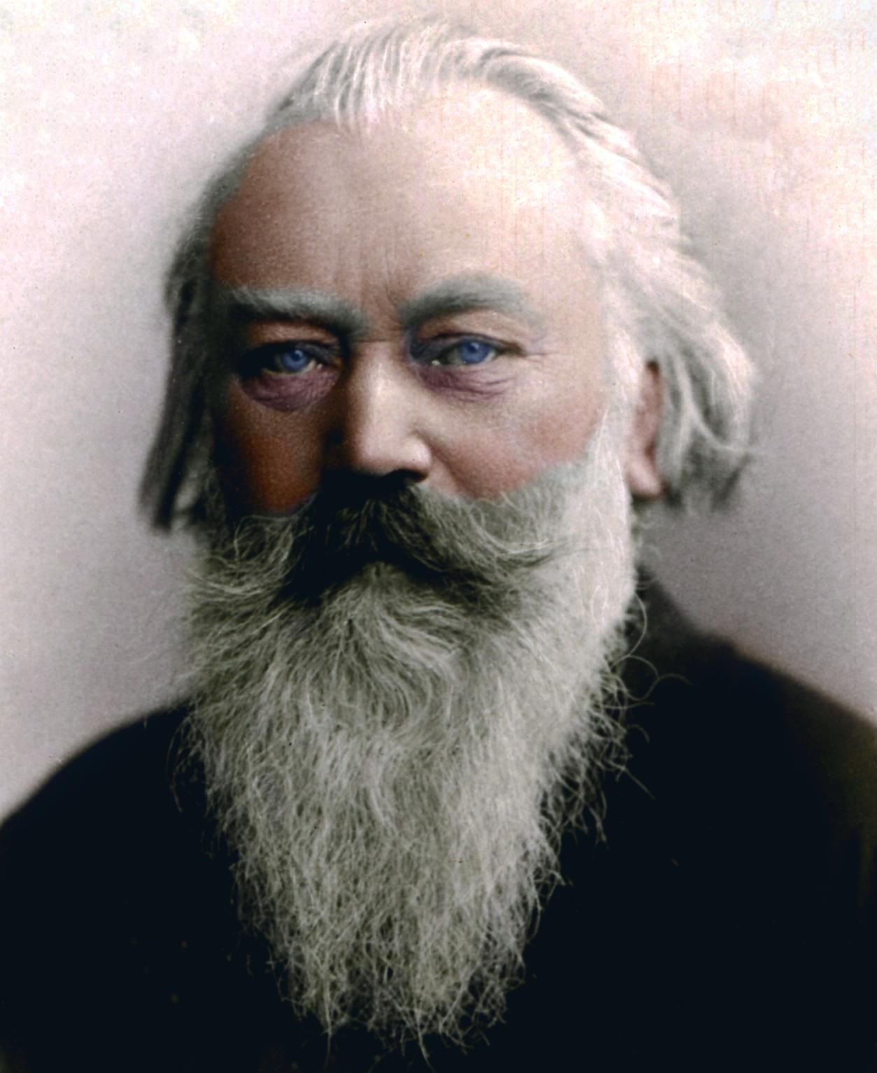 Composer johannes brahms colorized photo classical music composer johannes brahms colorized photo fandeluxe
