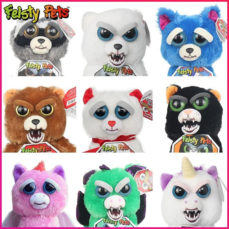 Feisty Pets Bear Stuffed Animal Animal Dolls Panda Dog