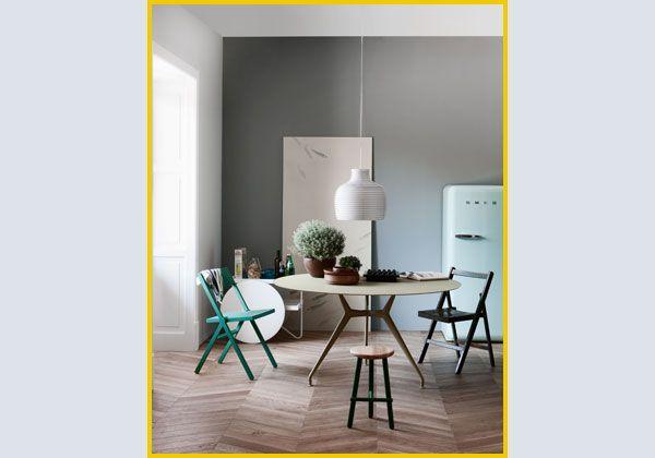 Tavolo Rimadesio ~ Qui in versione rotonda il tavolo manta di rimadesio design