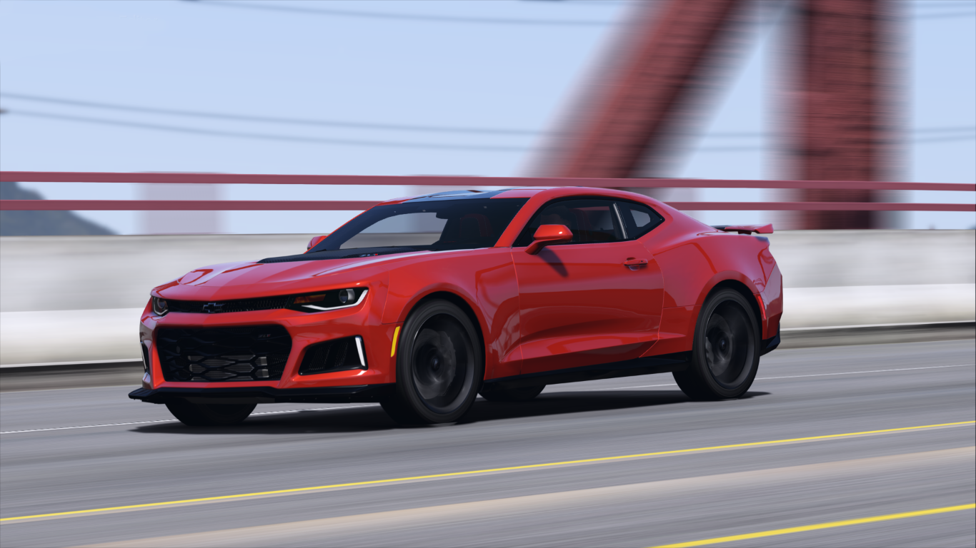 Chevrolet Camaro Zl1 2017 Add On Replace Animated Chevrolet