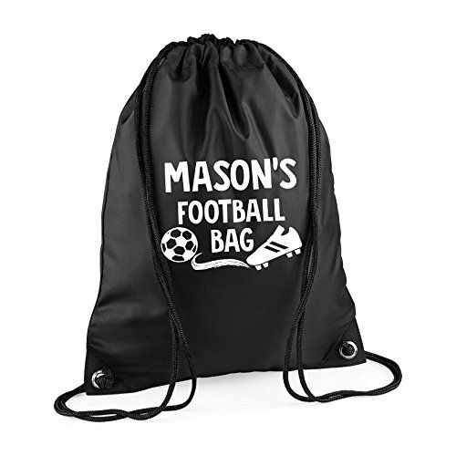 626dbc5a6c0b Personalised Name Football Kids Bag Gym Bag Children s Bags Back to School  Children s Gifts Custom Sports