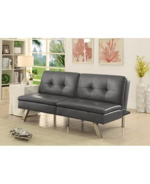 fosso split back futon bed black products futon bed futon rh pinterest com