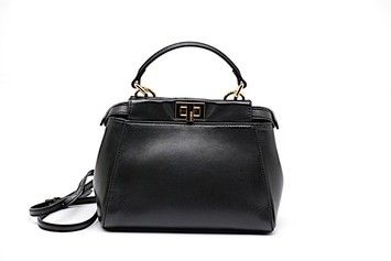 5e895505f983bb Fendi Mini Peekaboo Handbag In Box W/Raincoat Excellent Condition ...