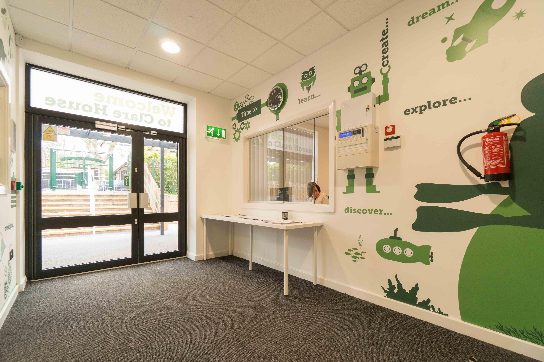 Clare House Primary School Reception Дизайн, Детские