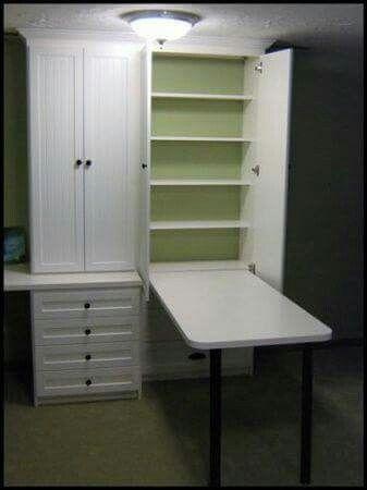 Armario bancada | Office/Craft Room Organization/Desks | Pinterest ...