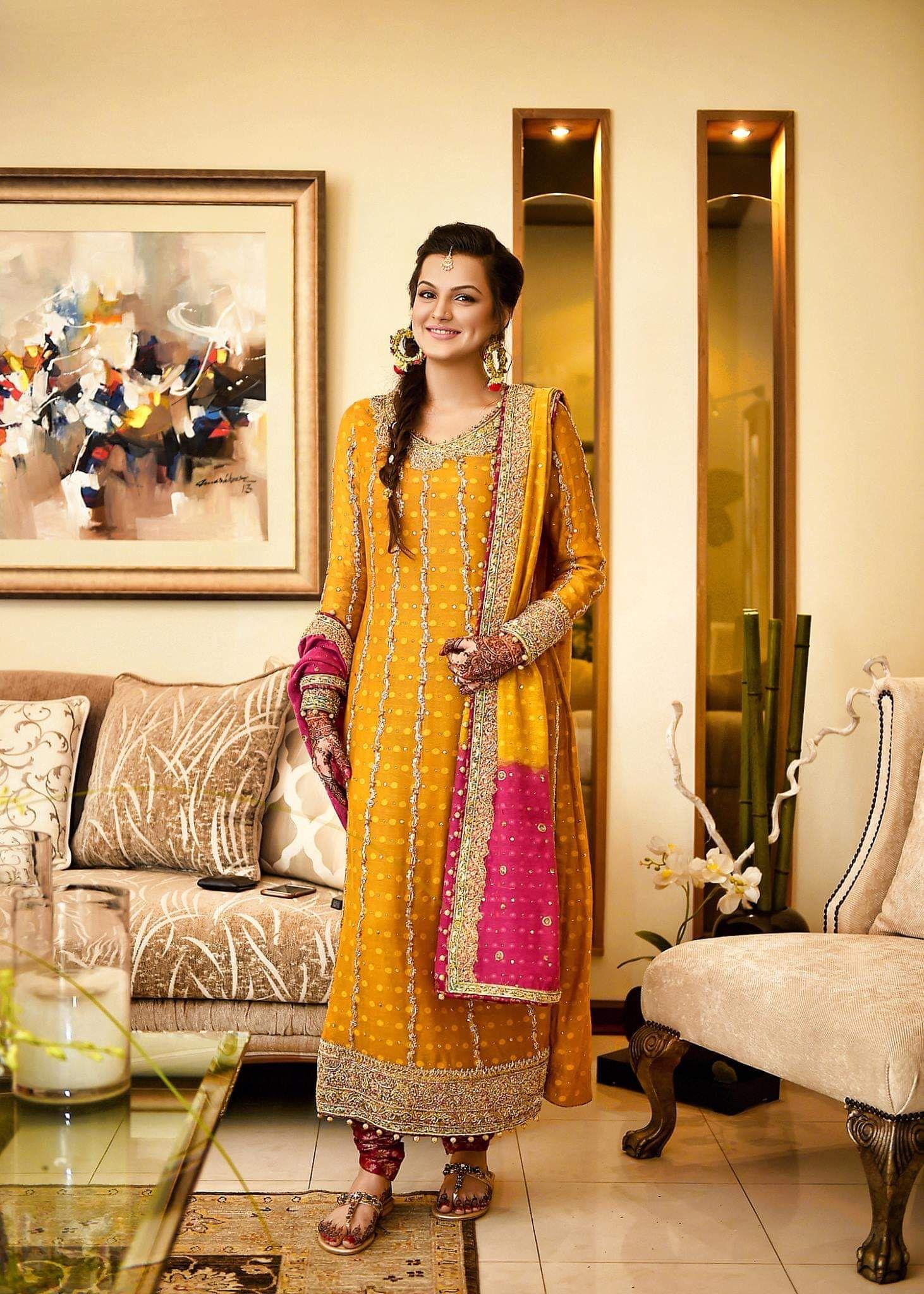 22++ Yellow dresses for weddings pakistani ideas