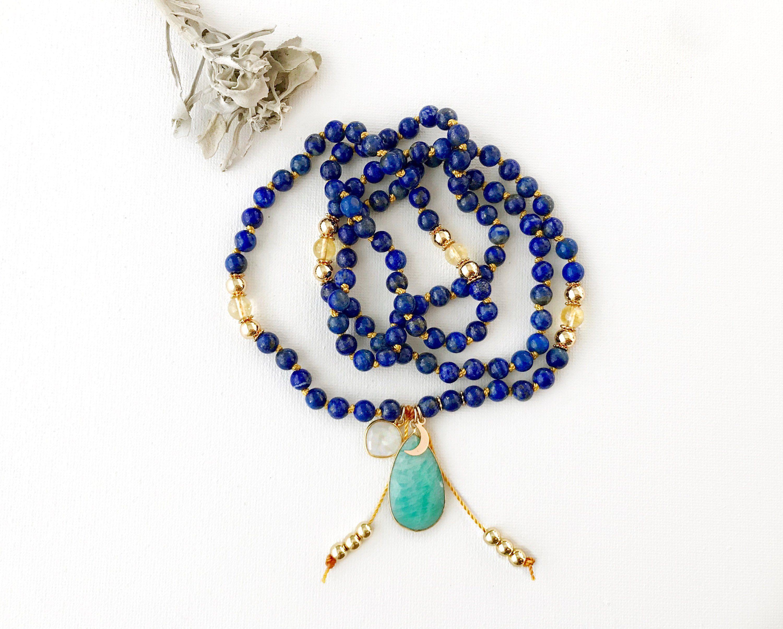 Wisdom 108 Mala Necklace