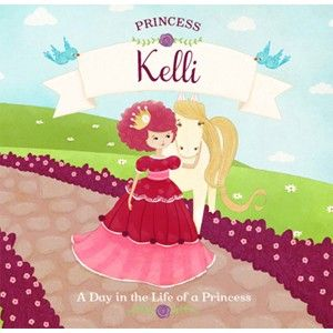 Make your little princess the star of her very own storybook this holiday! #GiveBooks